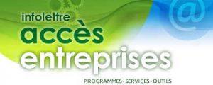 accès entreprises mesure d'aide